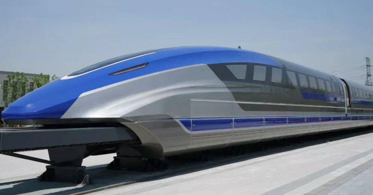 treno cinese a levitazione magnetica rail academy
