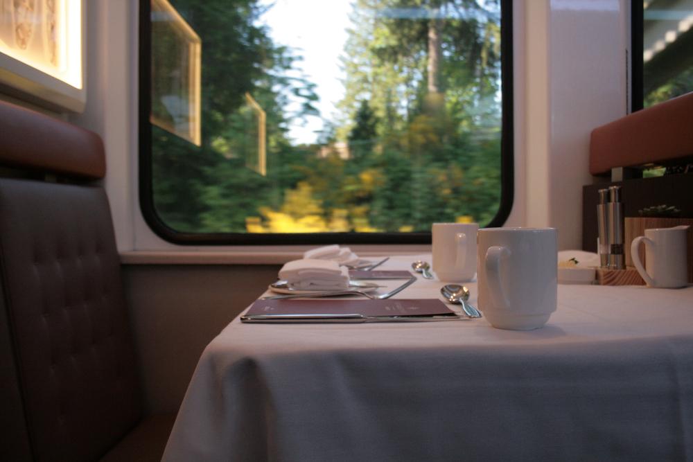 treno lussuoso rail academy